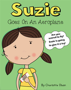 Suzie goes on an aeroplane