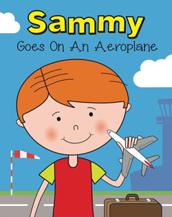 Sammy goes on an aeroplane